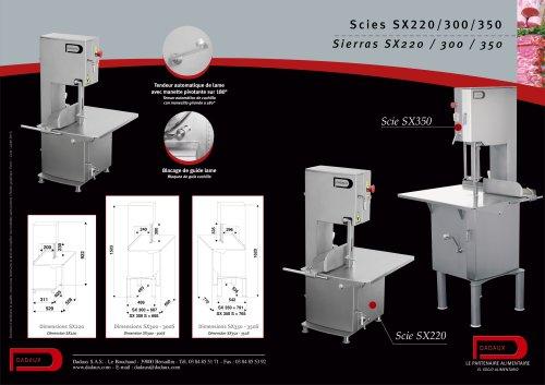 SX 300 / SX 300 S-SX 350 / SX 350 S