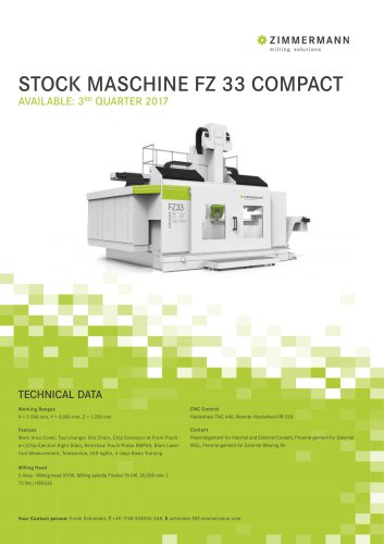 Stock: FZ33 COMPACT
