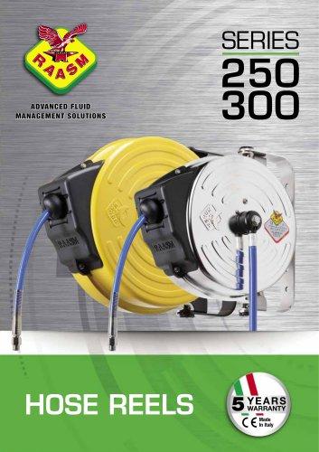 Air/Water hose reels s. 250-300