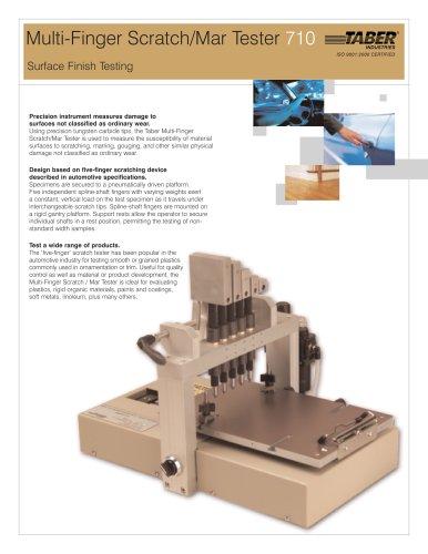TABER Multi-Finger Scratch / Mar Tester