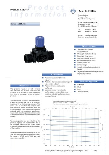 42.008.126 Pressure Reducer