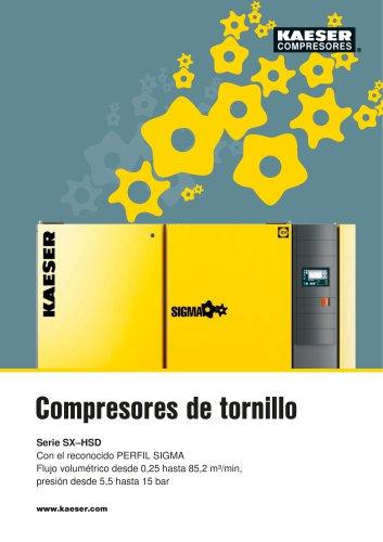 Catálogo General de Compresores de Tornillo