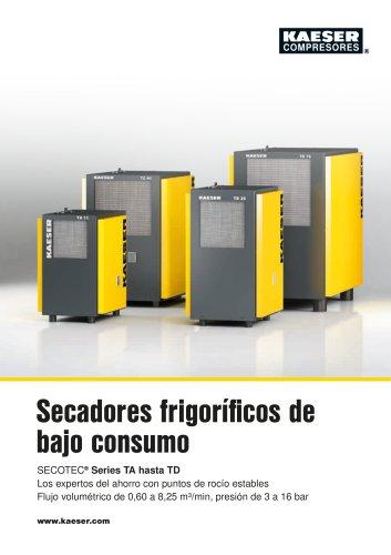 Secadores frigoríficos series TAH - TCH