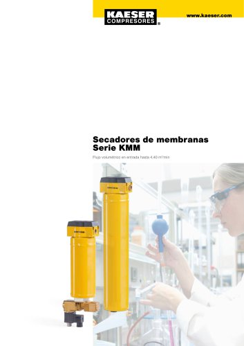 Secadores de membranas serie KMM