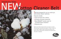 Cotton Cleaner Belt