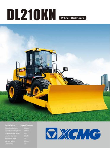 XCMG 136kN Wheel Bulldozer DL210KN