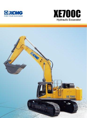 XCMG 70Ton excavator XE700C construction