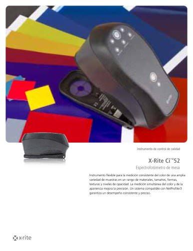 Espectrofotómetro X-Rite Ci™52