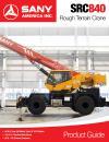 SANY SRC840 Rough Terrain Crane