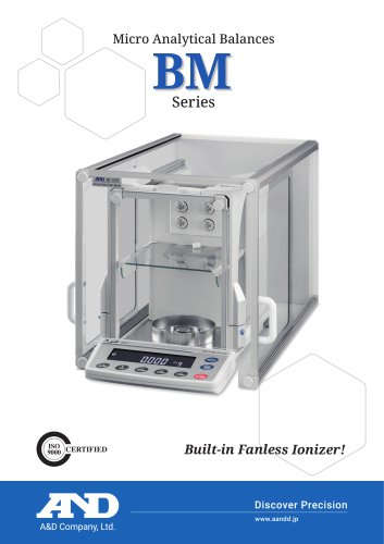 BM Series of Micro Analytical Balances