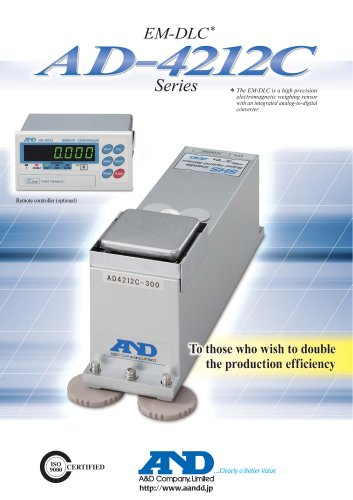 Electromagnetic Digital Load Cell/AD-4212C series