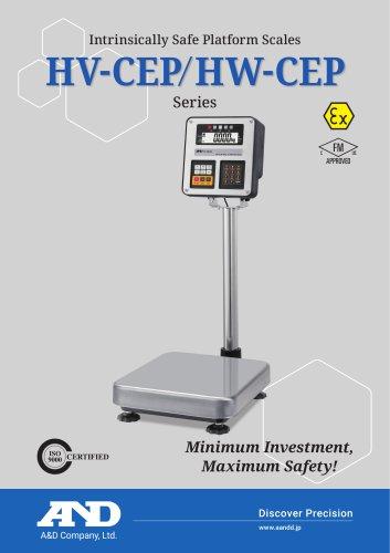 HV-CEP/HW-CEP Series of Intrinsically Safe Platform Scales