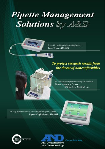 Pipette Management Solutions
