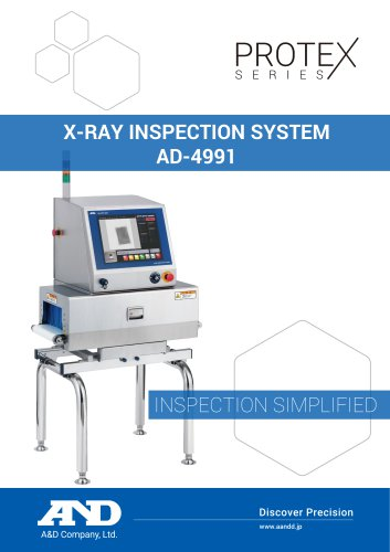 X-ray Inspection Systems AD-4991 Series