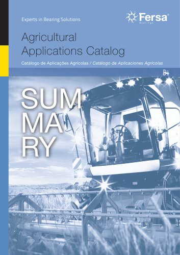 Agricultural Application Catalog