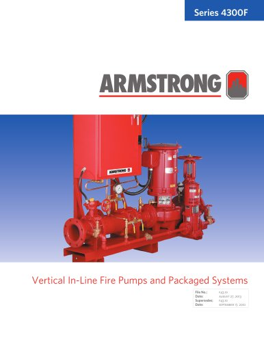 Vertical In-Line Fire Pump