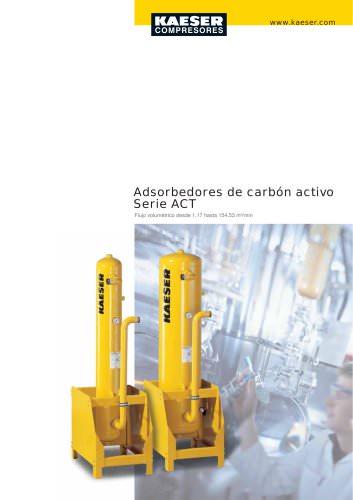 Adsorbentes de carbón activo. Serie ACT