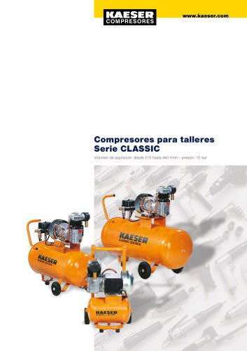 Compresores de pistón Serie CLASSIC