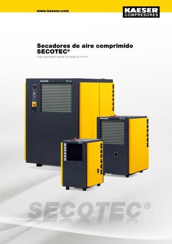 Secadores frigoríficos series SECOTEC
