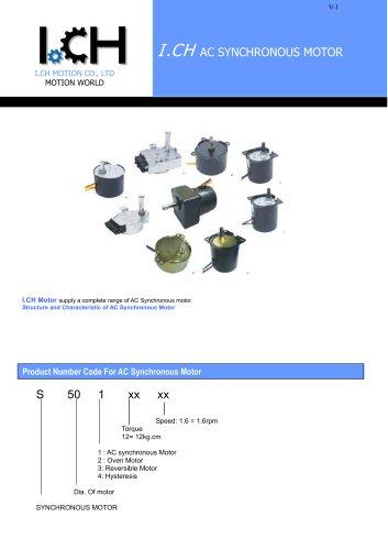 I.CH--AC Synchronous Motor