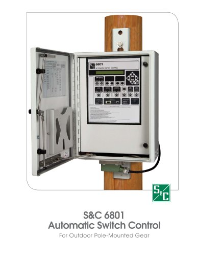 Automatic Switch Control For Outdoor Pole-Mounted Gear v