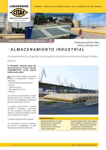 almacenamiento industrial