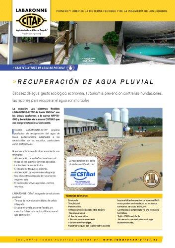 recuperacion de agua pluvial