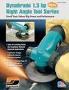 Dynabrade 1.3 hp Right Angle Tool Series
