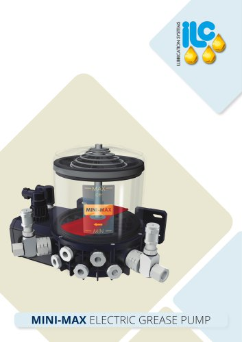 MINI-MAX Electric Grease Pump Catalogue