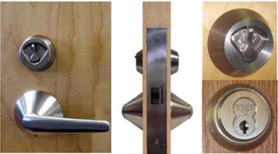 cerrojo con llave para puerta