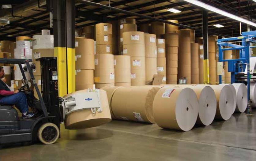 Pinza de manipulación para bobinas de papel - 13H series - Cascade