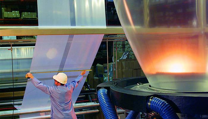 Línea de extrusión de película soplada - Davis Standard Extrusion Systems -  para LDPE / para EVA / 7 capas