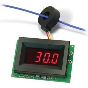 amperímetro digital / AC / montado en panel