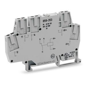 módulo de relé con optoacoplador sobre / de conmutación / DC / AC
