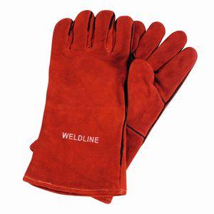 guantes de soldadura / de protección térmica / contra los arcos eléctricos / de cuero