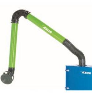 brazo de extracción fijo / flexible / articulado / para polvo