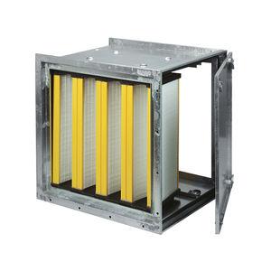 caja de filtro plisada