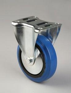 rueda con aro / de elastómero / para carritos de supermercado / para carro