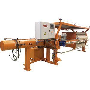 filtro-prensa automática / de bastidor / para el tratamiento de fangos