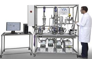 destilador para aguas residuales industriales / de laboratorio