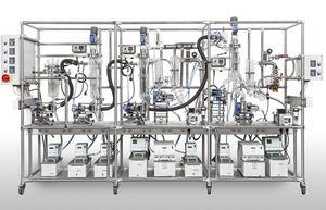 destilador para aguas residuales industriales / de laboratorio / automático
