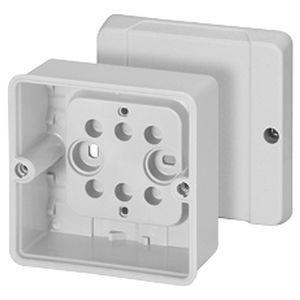 caja de conexiones de pared