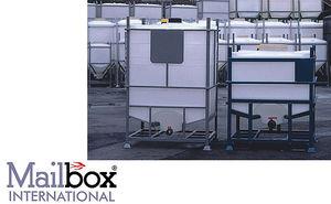 silo para productos químicos / para alimentos / de plástico / para la industria
