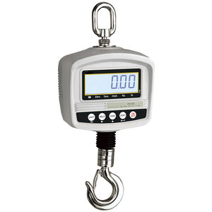 gancho pesador con pantalla LCD