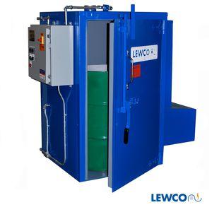 cámara caliente para calentamiento de bidón y contenedor para barriles / para contenedores