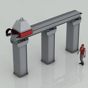 eje lineal en poste