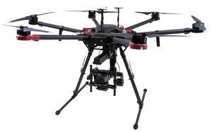 dron hexacóptero
