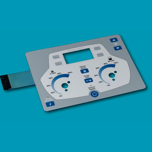 teclado empotrable / sin puntero / de membrana / de poliéster