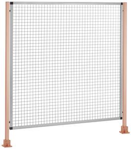 tabique de protección de máquina / de taller / para almacenamiento / para la protección de áreas