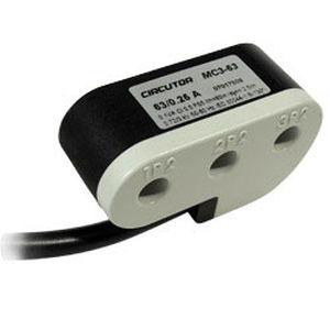 transformador de corriente / encapsulado / trifásico / de red eléctrica